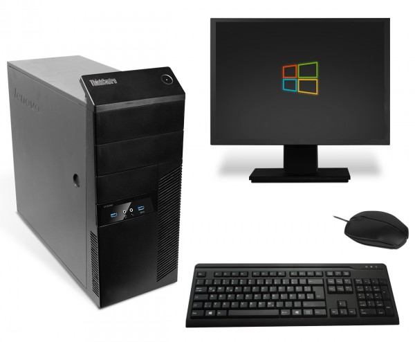 Lenovo ThinkCentre M93p Komplettsystem PC Computer - Intel Core i3-4130 2x 3,4 GHz