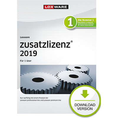 Lexware zusatzlizenz 2019 für 1 User - ESD