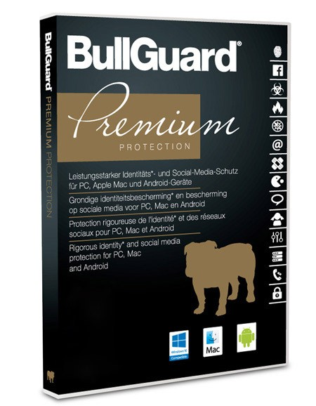 BullGuard Premium Protection 2020 – 15 Geräte / 2 Jahre – ESD