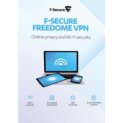 F-Secure Freedome VPN 2018 3 Geräte / 12 Monate - ESD