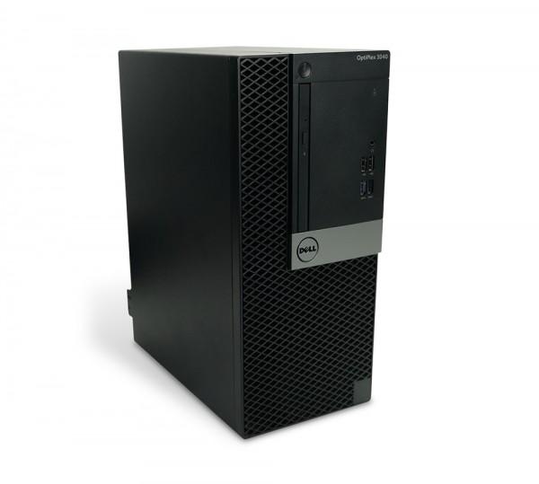 Dell OptiPlex 3040 Tower PC Computer - Intel Core i3-6100 2x 3,7 GHz DVD-Brenner