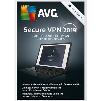 AVG SecureVPN 2019 - 1 PC / 2 Jahre - ESD
