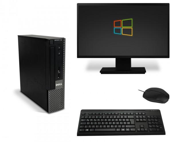 Dell OptiPlex 780 Office Bundle PC Computer - Intel Dual Core-E5400 2x 2,7 GHz