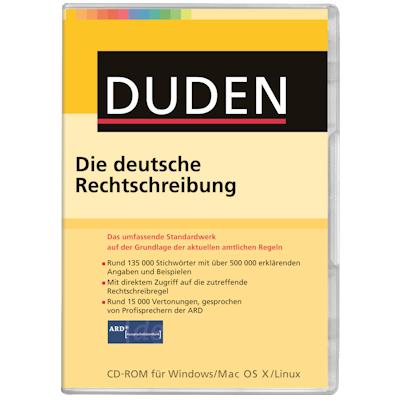 Duden Die deutsche Rechtschreibung - ESD