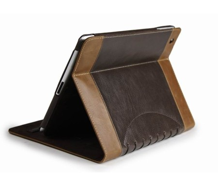 Noratio Smart Cover Footballstyle für iPad mini 1.-3. Gen. - braun