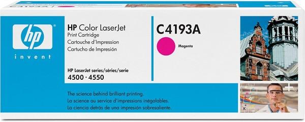 HP LaserJet Tonner C4193A OVP - Magenta