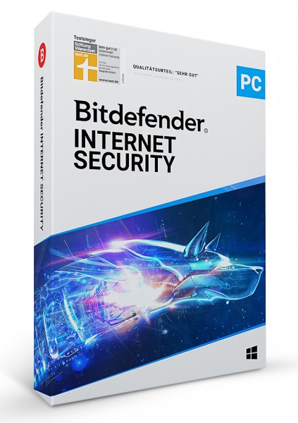 Bitdefender Internet Security 2021 - 5 User / 1 Jahr - ESD