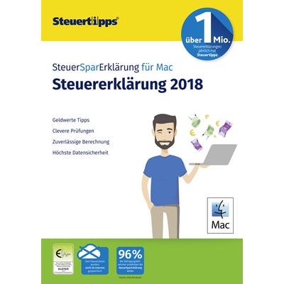 SteuerSparErklärung MAC 2019 (für Steuerjahr 2018) - ESD