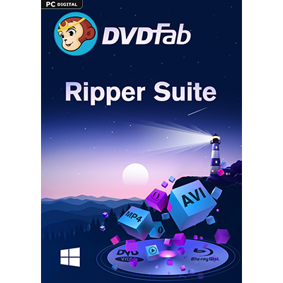 DVDFab Ripper Suite (DVD Ripper & Blu-ray Ripper) (24 Monate) - ESD