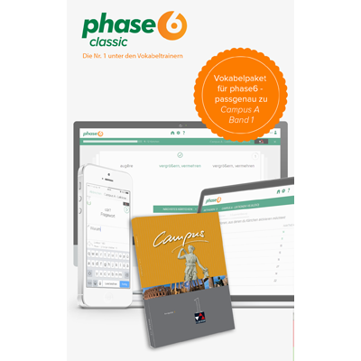 phase-6 Vokabelpaket zu Campus A - Band 1 - add-on - ESD