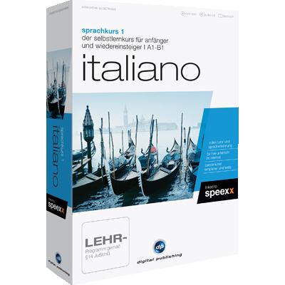 Sprachkurs 1 Italiano - ESD