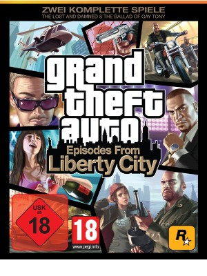 Grand Theft Auto - Episodes from Liberty City - PC - USK 18