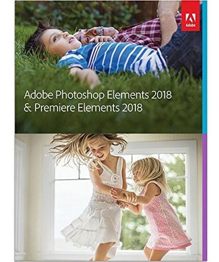 Adobe Photoshop & Premiere Elements 2018 Bundle Vollversion
