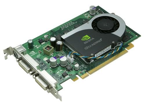 Nvidia Quadro FX 1700 512MB DDR3 - 2x DVI (inkl. Einbau)