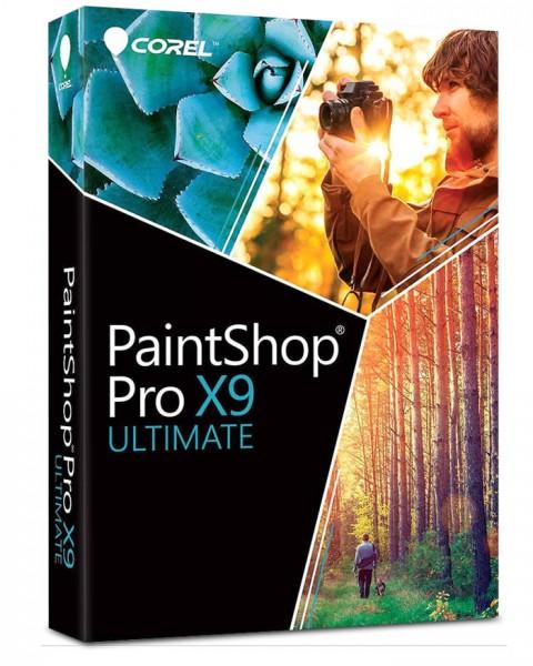 PaintShop Pro X9 Ultimate Box
