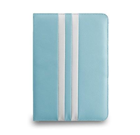 Noratio Smart Cover Retro Style für iPad mini 1. - 4. Generation - blau