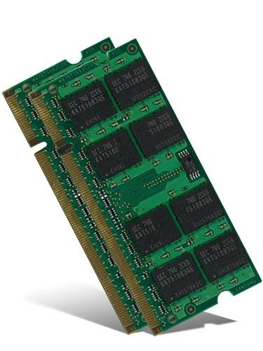 Notebook Arbeitsspeicher - 2x 1GB DDR2 - PC2-5300 667 MHz - nach Lagerbestand
