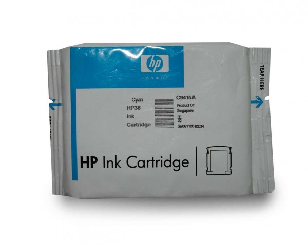 HP Original Tintenpatrone Cyan