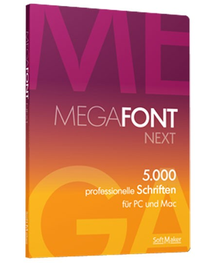 MegaFont NEXT – Box
