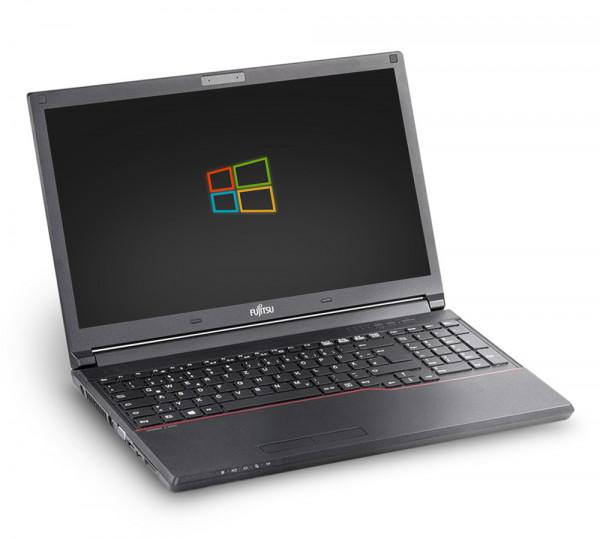 Fujitsu LifeBook E556 15,6 Zoll Full HD Laptop Notebook - Intel Core i5-6300U 2x 2,4 GHz DVD-Brenner