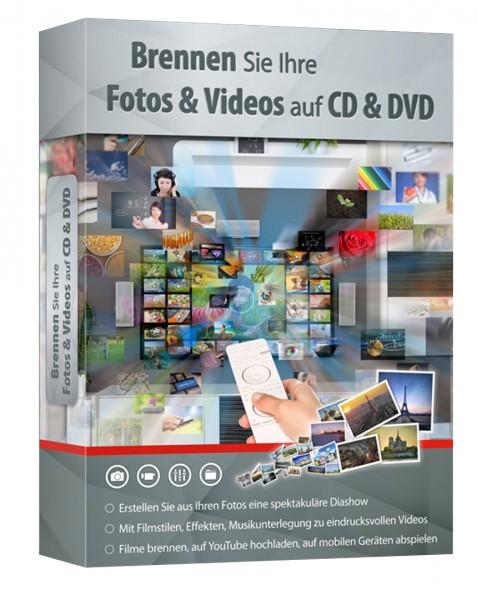 Fotos & Videos auf CD und DVD brennen