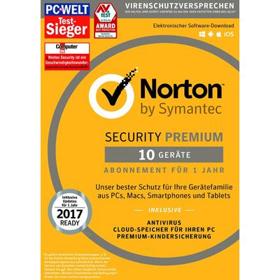 Symantec Norton Security 3.0 Premium - 10 Geräte - ESD