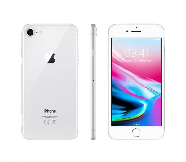 Apple iPhone 8 - 64GB LTE / 4G - 4,7 Zoll Smartphone - weiß / silber