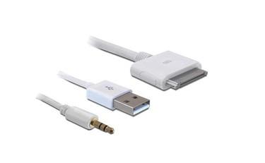 Lade- und Datenkabel für IPhone/IPod USB 2.0 1m weiss