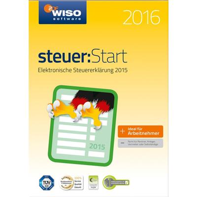 WISO steuer:Start 2016 (für Steuerjahr 2015) - ESD