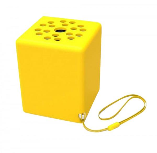 InLine Mini Bluetooth Lautsprecher Bobby mit Freisprechfunktion - Gelb