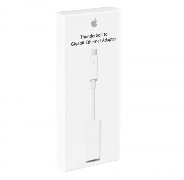 Original Apple MD463ZM/A Thunderbolt to Gigabit Ethernet Adapter