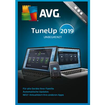 AVG TuneUp 2019 Unlimited Unbegrenzte Geräte / 24 Monate Laufzeit - ESD
