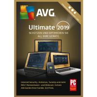 AVG Ultimate 2019 - 1 Jahr / unbegrenzte Geräte - ESD