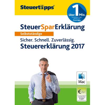 SteuerSparErklärung Selbstständige 2018 (für Steuerjahr 2017) - ESD