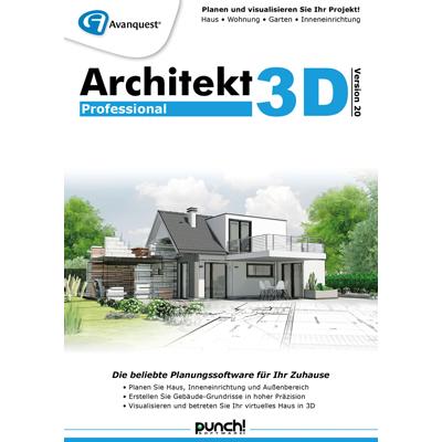 Architekt 3D 20 Professional - ESD