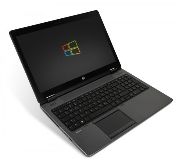 HP GamerStation Zbook 15 15,6 Zoll Full HD Laptop Notebook - Intel Core i7-4800MQ 4x 2,7 GHz