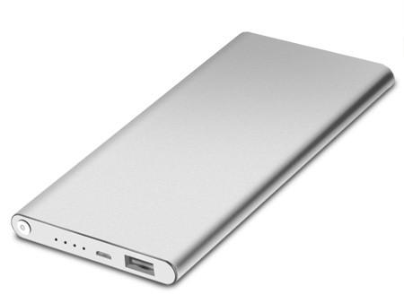 Soundlogic - Ultra Slim Portable 4000mAh Powerbank - 17836 - Silber