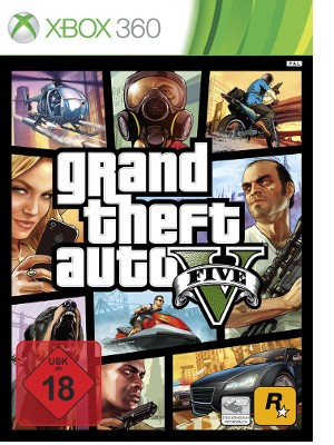 GTA V - Grand Theft Auto 5 - XBox360