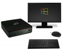 Fujitsu Esprimo Q520 Mini PC Computer Bundle - Intel Core i3-4350T 2x 3,1 GHz