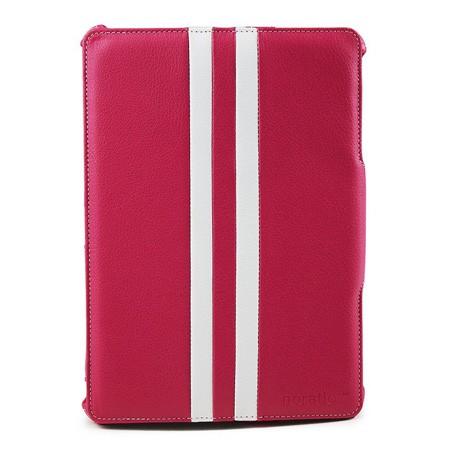 Noratio Smart Cover - Retro Style für iPad Air - rosa